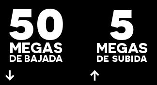 Servicio de internet 50 Mb Provincia de Toledo